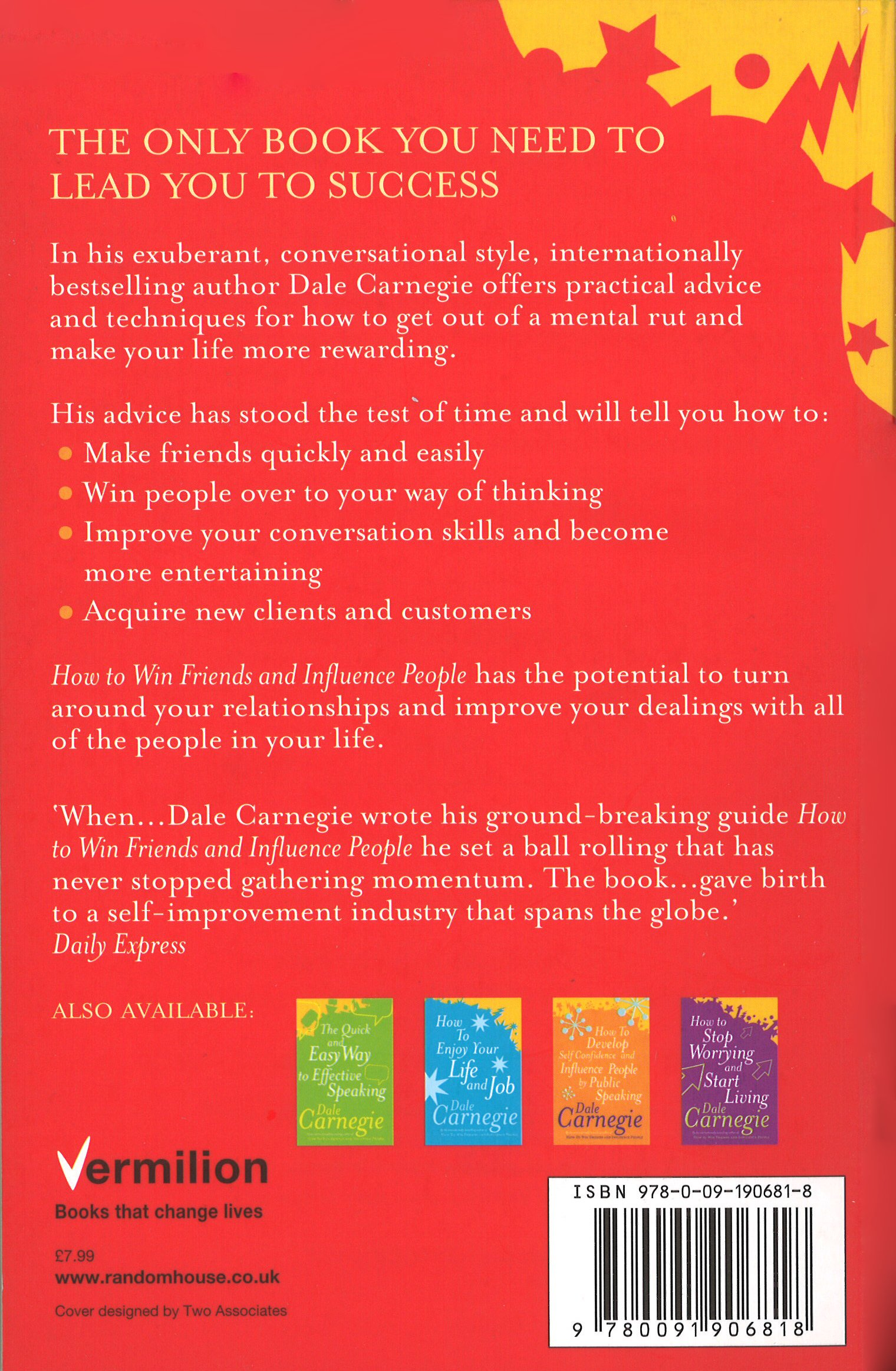 How To Win Friends And Influence People: Amazon: Dale Carnegie:  9780091906818: Books