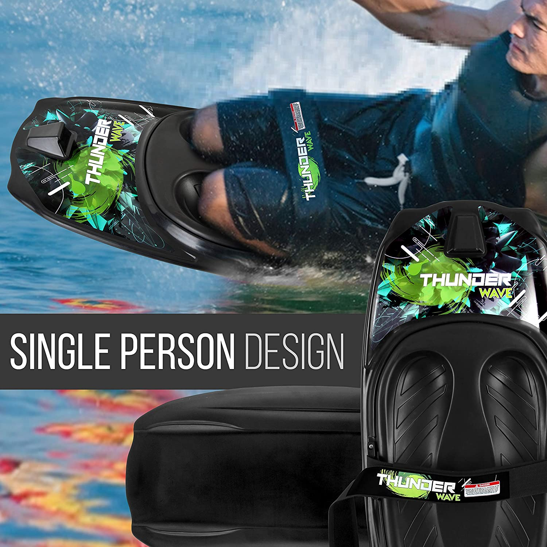 Knee Surfing Kneeling Boogie Boarding Waterboarding Neolife Water Sport Kneeboard with Hook for Boating