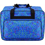 Anfan Sewing Machine Carrying Case Tote Bag-Padded Storage Cover Carrying Case with Pockets and Handles