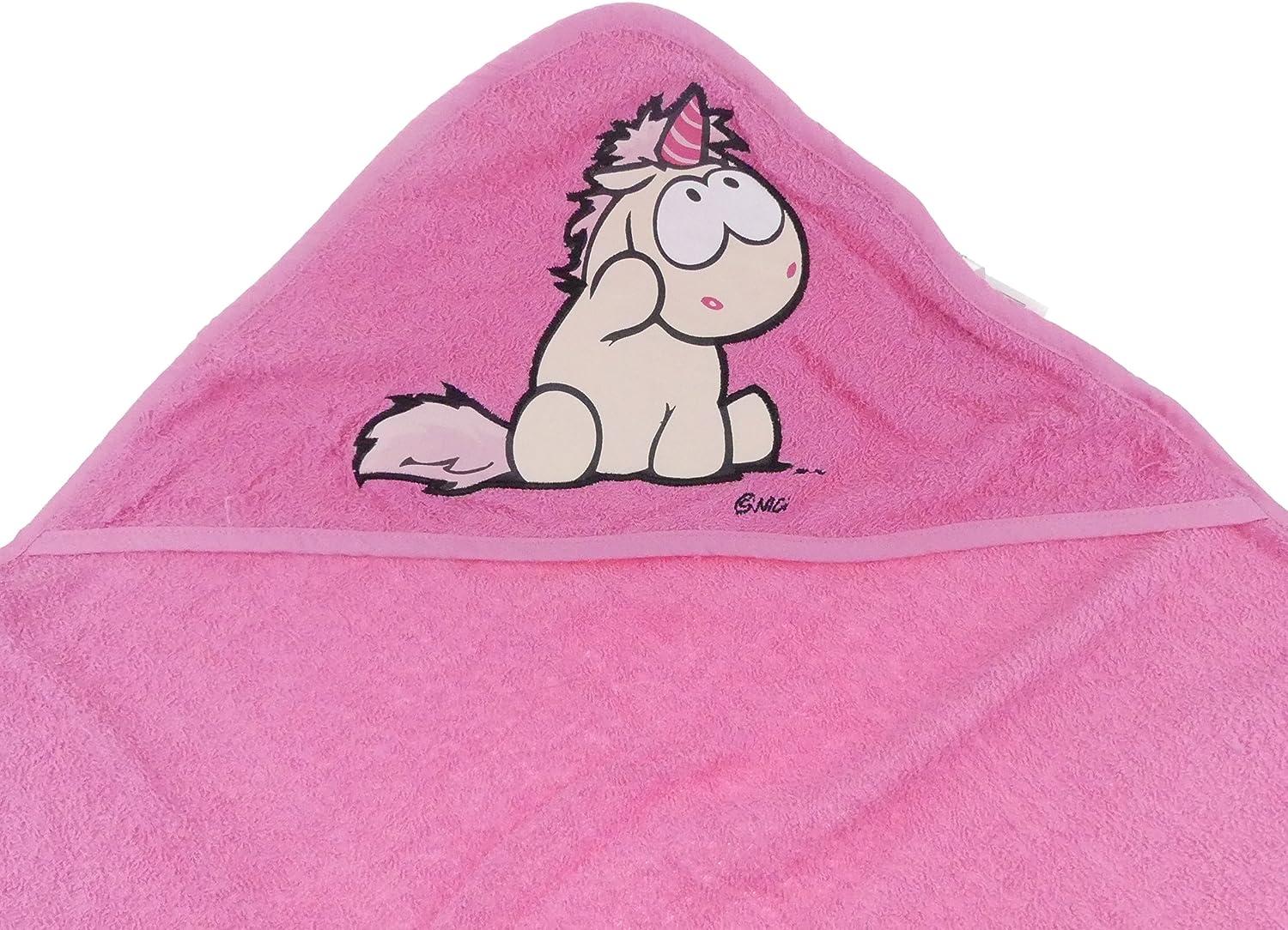months TVM Europe GmbH Nici Theodor /& Friends Bath Towel 75/x 75/Hooded Baby Bath Poncho 100/% cotton Infants Age 0/