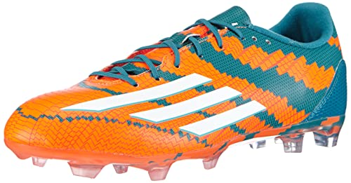 finest selection fa2d1 364ef adidas Performance Messi 10.2 FG, Men Football Competition, Orange (Power  Teal F14