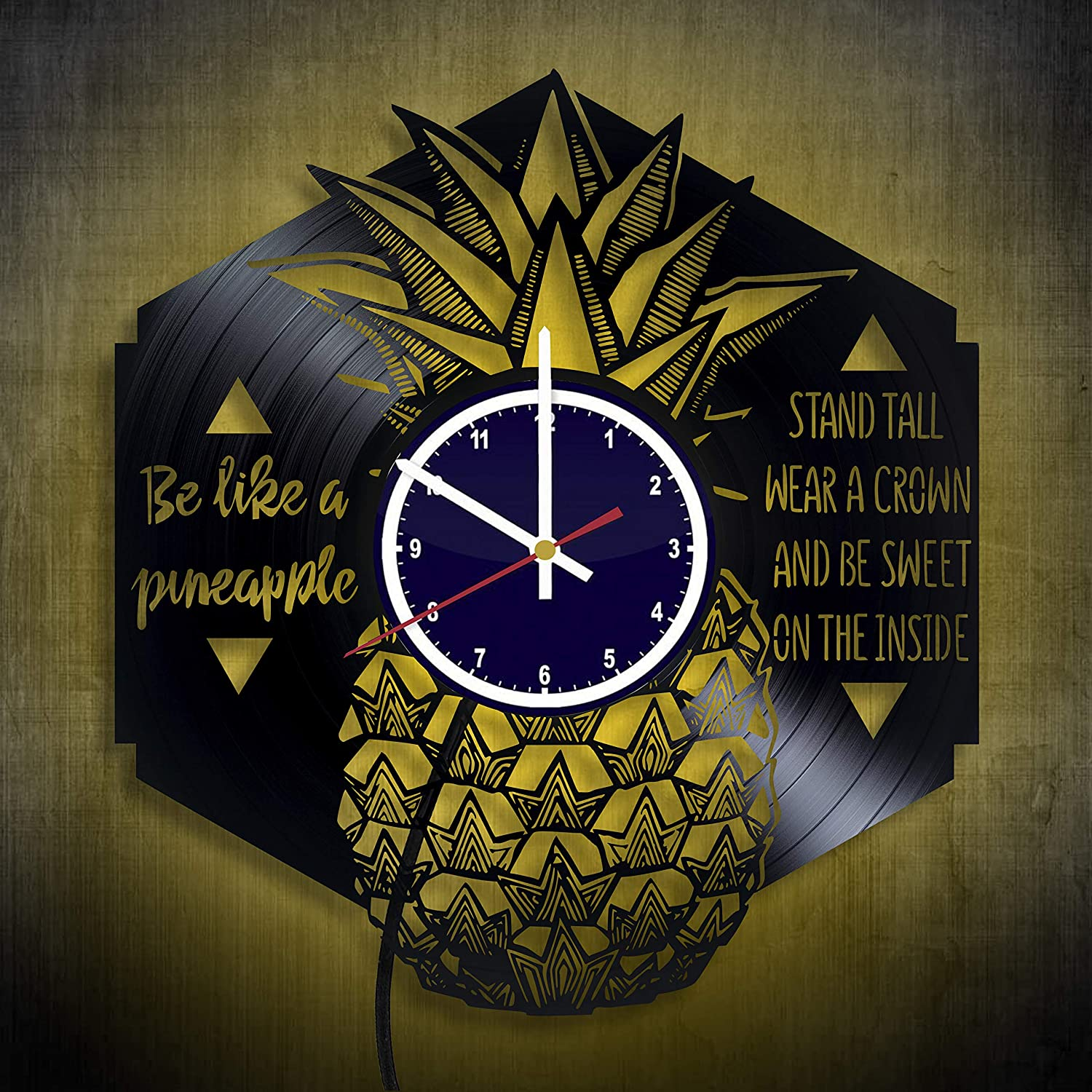 pineapple party decorations home sign gifts for teachers pineapple party decor Pineapple Gifts for Girls Wall Clock Night light