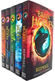 Brian Jacques Redwall Series 5 Books Collection Set (Redwall, Mossflower, Mattimeo, Mariel of Redwall & Martin the…