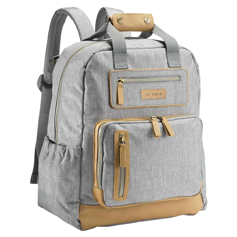 JJ Cole Infant Baby Papago Pack Men/'s Diaper Bag Backpack Blackout Black