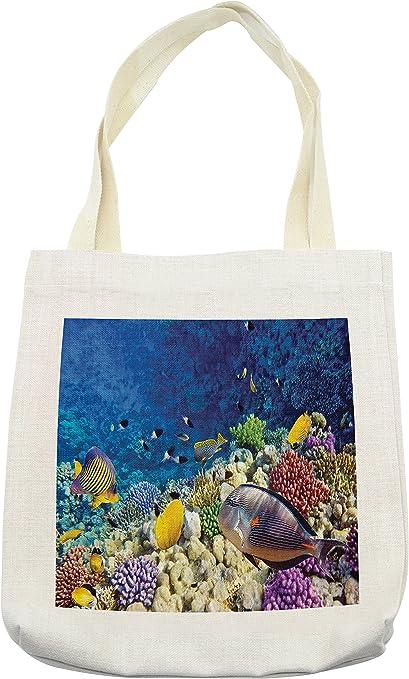 Aquatic World Tote Bag