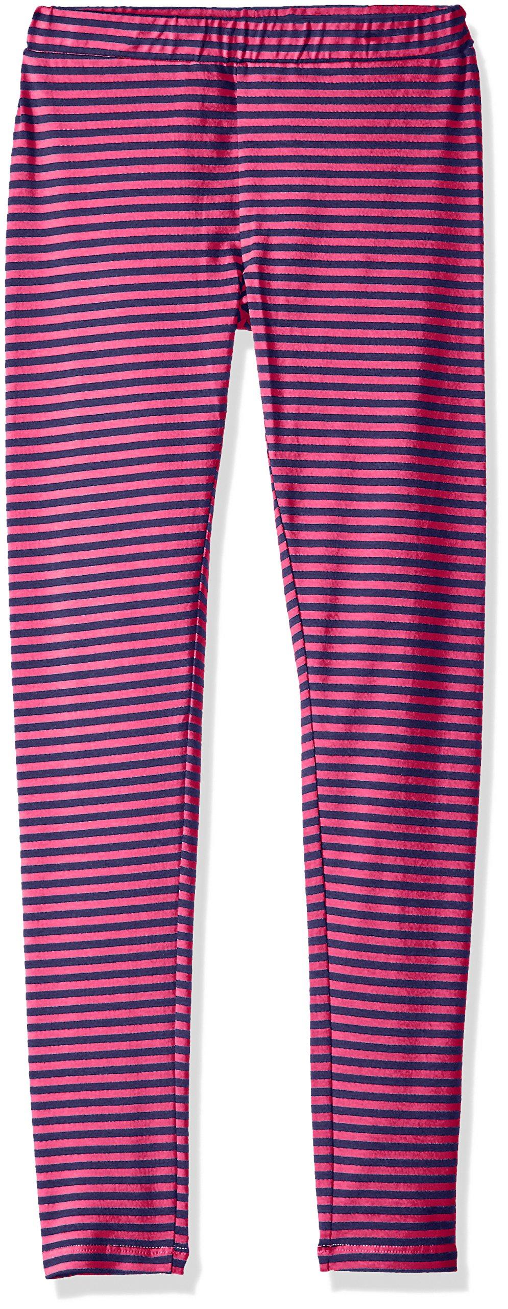 Scout + Ro Big Girls' Striped Jersey Legging, Lollipop, 7