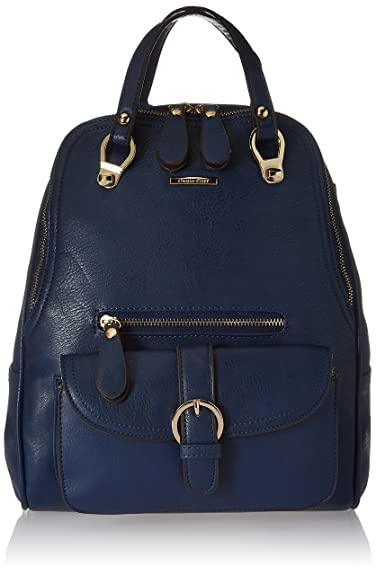 Diana Korr Matilda Women s Fashion Backpack (Blue) (DK33HDBLU)  Amazon.in   Shoes   Handbags 0506a66bc2b9c