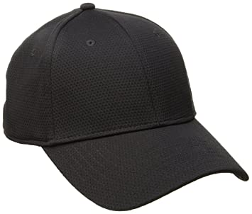 all black under armour hat