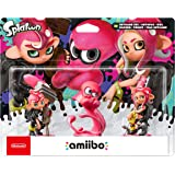 Amiibo Octoling Boy, Girl and Octopus Splatoon Triple Pack
