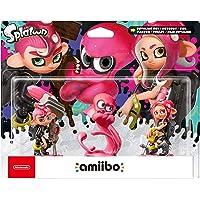 amiibo Figur Oktoling-Mädchen, Oktoling-Junge, Oktoling-Oktopus (3 in 1)