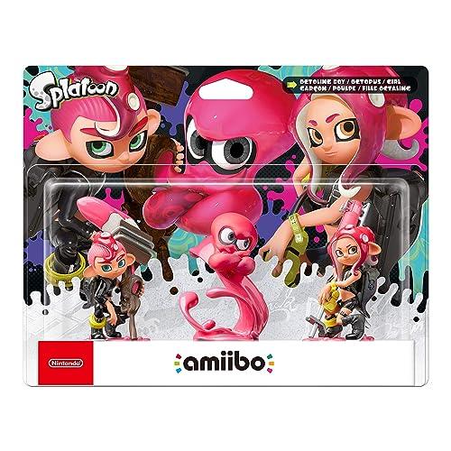 Octoling Triple Pack (Octoling Boy + Octopus + Girl) amiibo (Splatoon Collection) (Nintendo Switch)