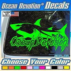 Bonefish Ocean Devotion Vinyl Decal//Sticker V1 Truck Fish Car Window Salt Life