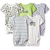 The Children's Place Baby Boys' Conversational Bodysuit (Pack of 5)