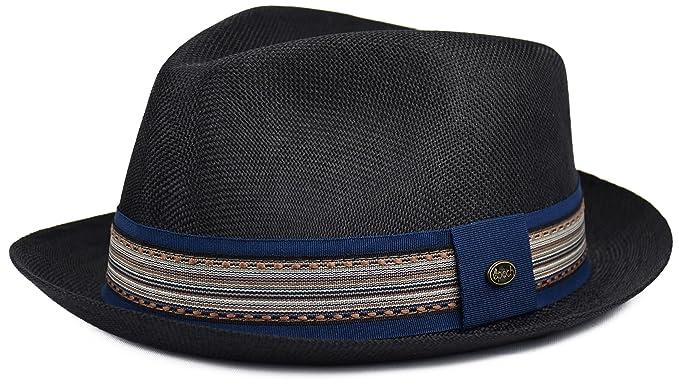 c94f0696610 urbanhatshop Men s Summer Fedora Hat
