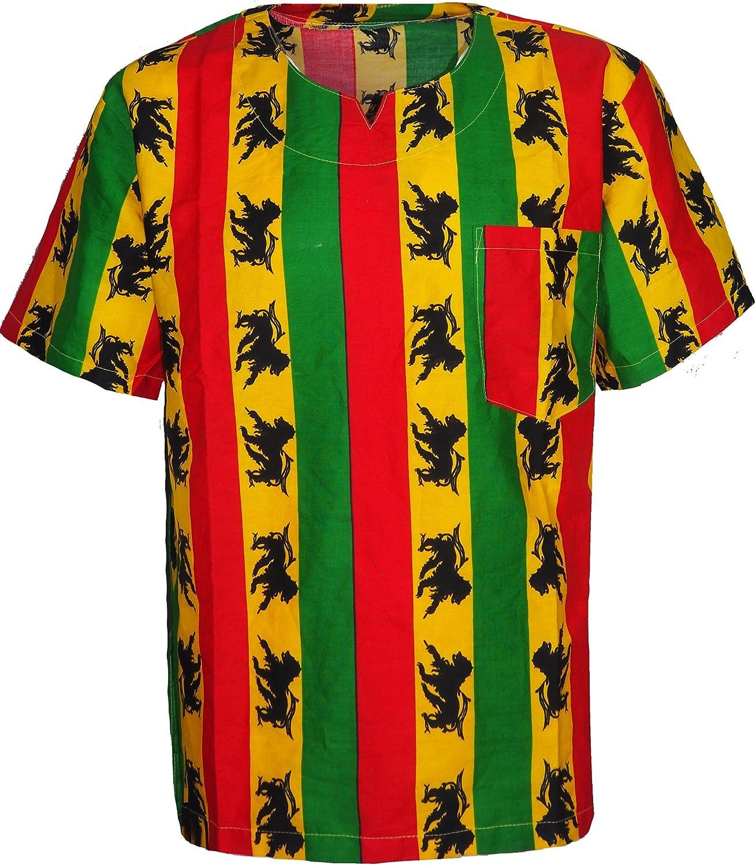 Camiseta de cuello en V de Bob Marley para hombre y mujer, de ...