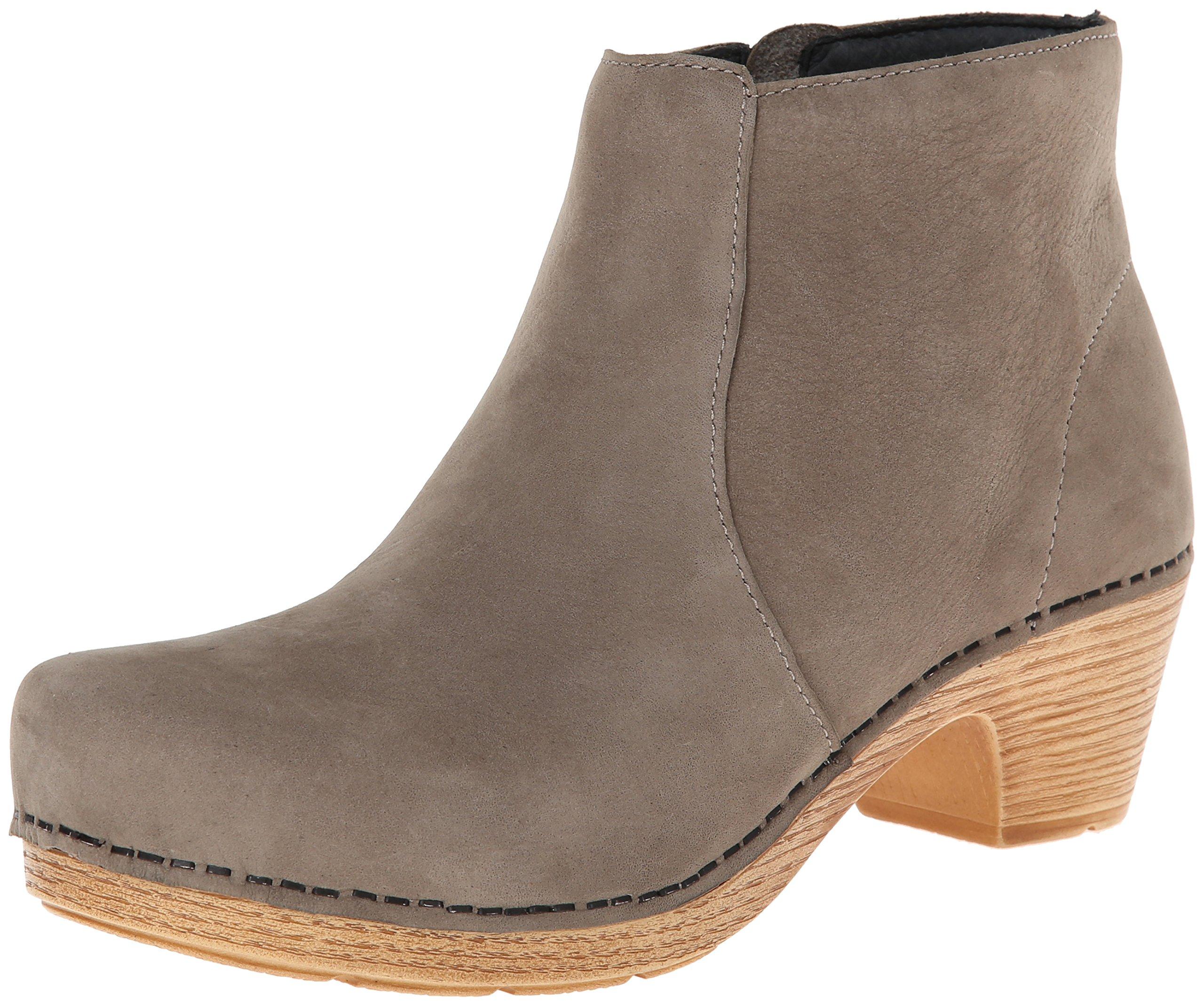 Dansko Women's Maria Boot, Taupe Milled Nubuck, 37 BR/6.5-7 M US