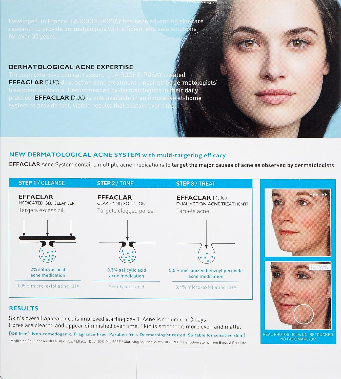 amazon com la roche posay effaclar dermatological acne treatment