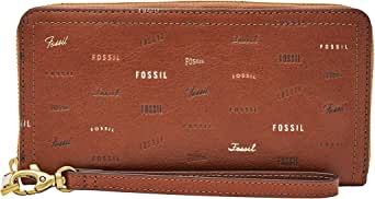 Fossil Women's Wallet, 7.75''L x 0.75''W x 4''H, Brown