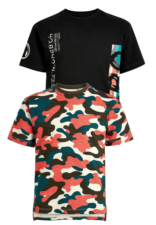 next Niños Pack De Dos Camisetas Estampadas (3-16 ... 517340d86e8