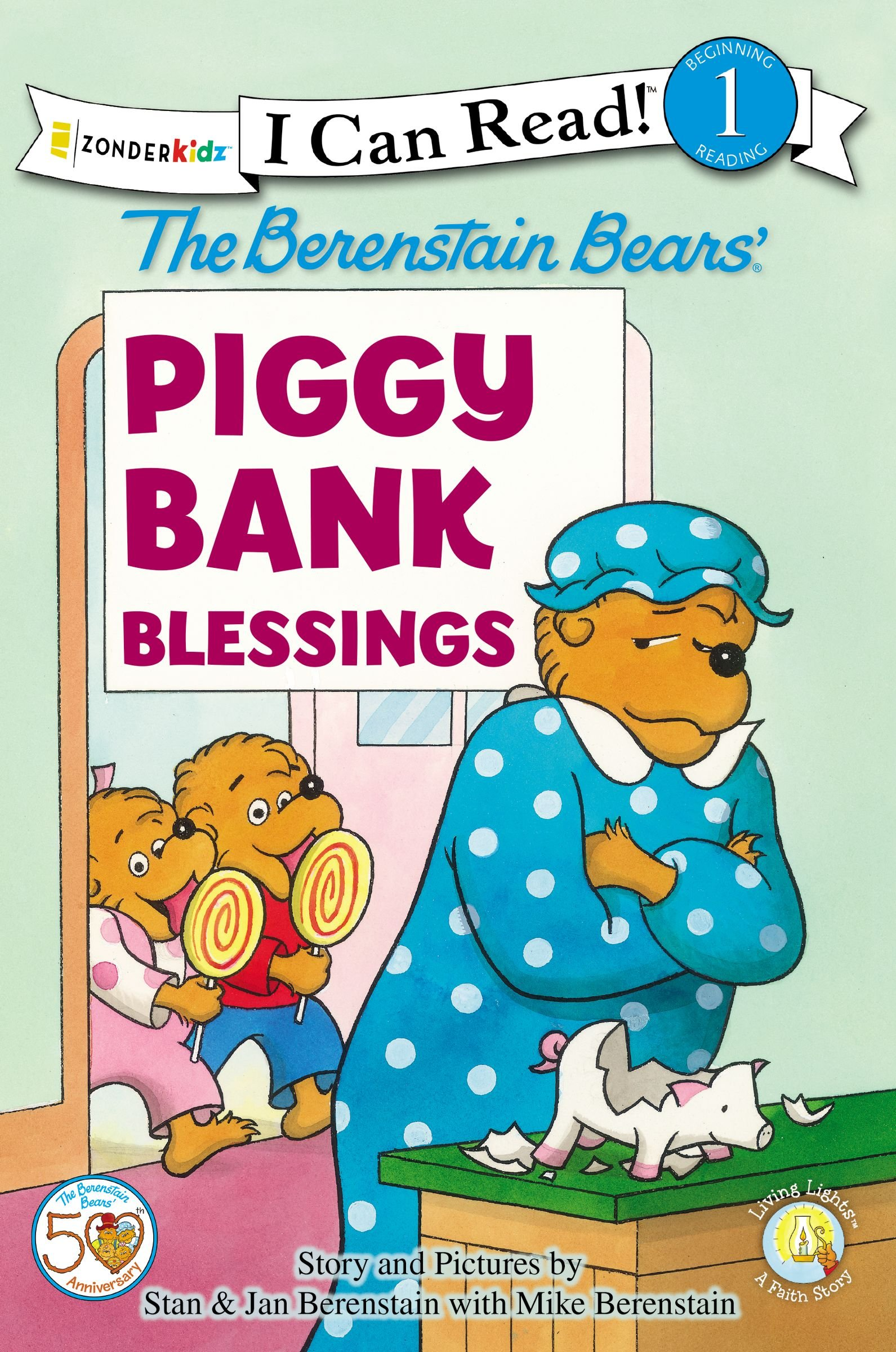 The Berenstain Bears Piggy Bank Blessings (I Can Read!/Living Lights)