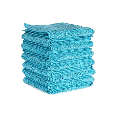 Plane Perfect Premium Grade Microfiber Towels (12): Automotive