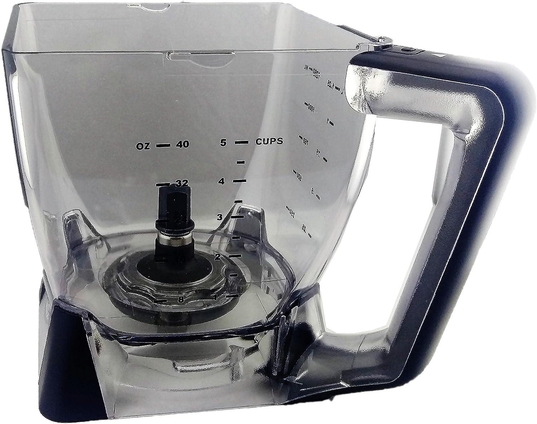 Ninja Kitchen Systems 40 oz Pitcher Bowl , ONLY for BL700, NJ600, NJ602