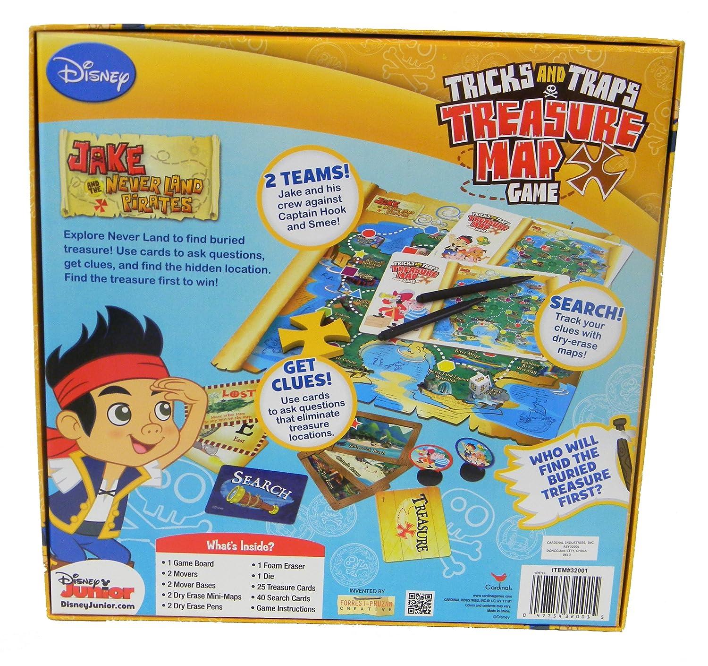 Jake Trick and Trap Treasure Map Game Cardinal Industries 32001