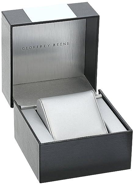 Amazon.com: Geoffrey Beene Mens GB8068GDCHBK Analog Display Japanese Quartz Gold Watch: Watches