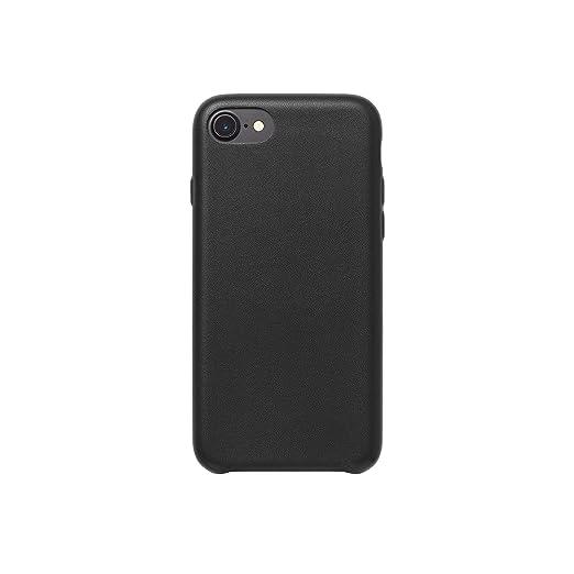 102 opinioni per AmazonBasics- Custodia in PU Sottile per iPhone 7, Nero