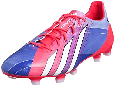 promo code a0325 be504 F50 Adizero TRX FG Messi Football Boots Blast Purple Turbo Red Running  White -