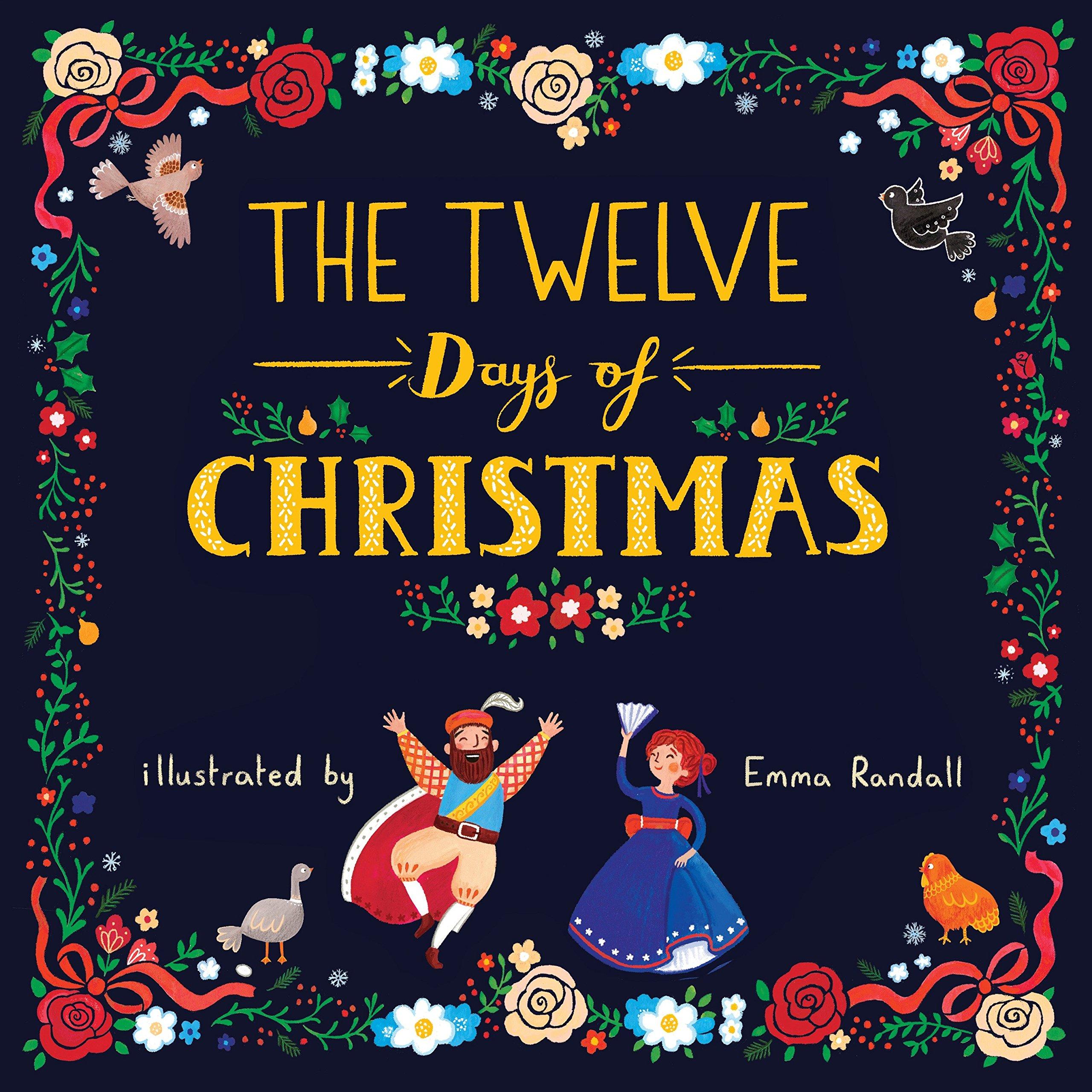 Amazon Com The Twelve Days Of Christmas 9780515157635 Emma