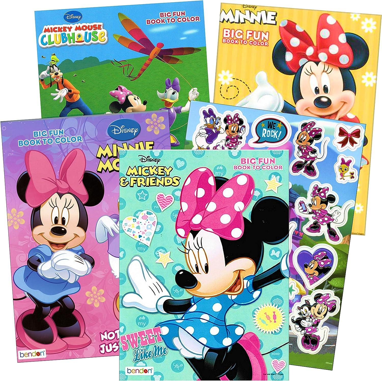 - Amazon.com: Bendon Publishing Minnie Mouse Coloring Books Stickers