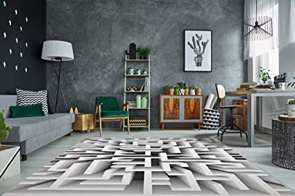 Rivestimento di Pavimento 3D per Salone Sala di Soggiorno ...