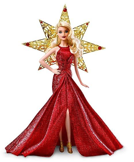 Barbie Magia delle Feste 2018 Bambola Castana, da Collezionare per