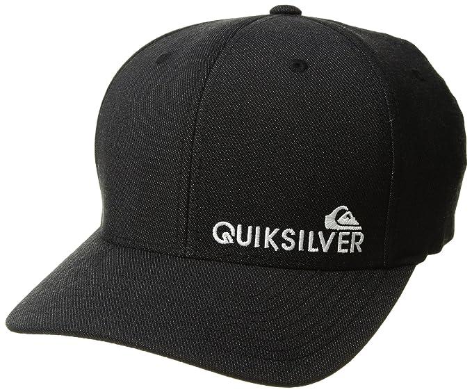 shop quiksilver mens sidestay hat black heather f0abe bf996 05217c5297f3