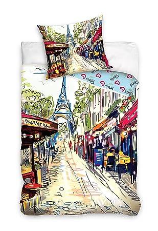 Paris Tour Eiffel linge de lit housse de