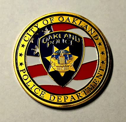 Amazon com : Oakland Police Department Colorized Challenge