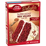 Betty Crocker Super Moist Cake Mix Red Velvet 15.25 oz Box