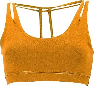 Guru-Shop Goa Psytrance Top de bikini, Goa Top, Pixi Yoga Bra, Mujer, Algodón, Tops & camisetas Ropa alternativa Kurkuma. M/L: Amazon.es: Ropa y accesorios