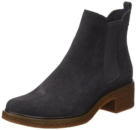Timberland Damen Brinda Double Gore Chelsea Pull On Chukka Boots Grau (Forged Iron) 41 EU