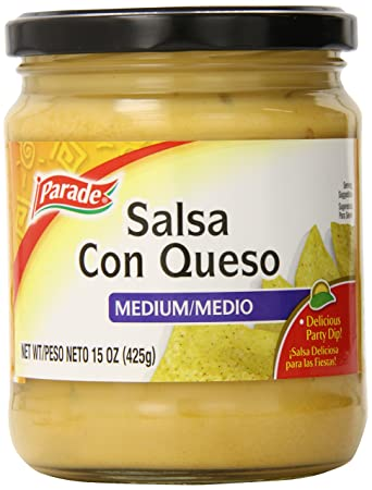 Parade Salsa Con Queso, 15 Ounce