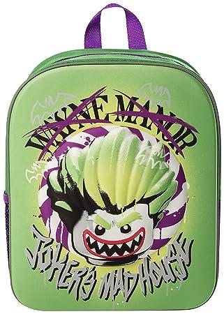 a6d3989deb51 Lego Joker EVA 3D Junior Backpack  Amazon.co.uk  Luggage