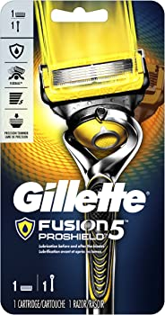 Gillette Fusion5 ProShield Men's Razor (Handle & 1 Blade Refill)