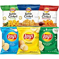 Deals on 40Ct Lays and Lays Kettle Cooked Potato Chips Variety Pack