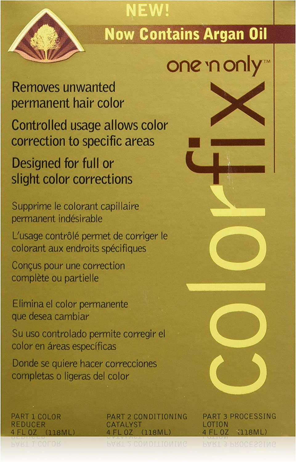 Colorfix Permanent Hair Color Remover by one n only