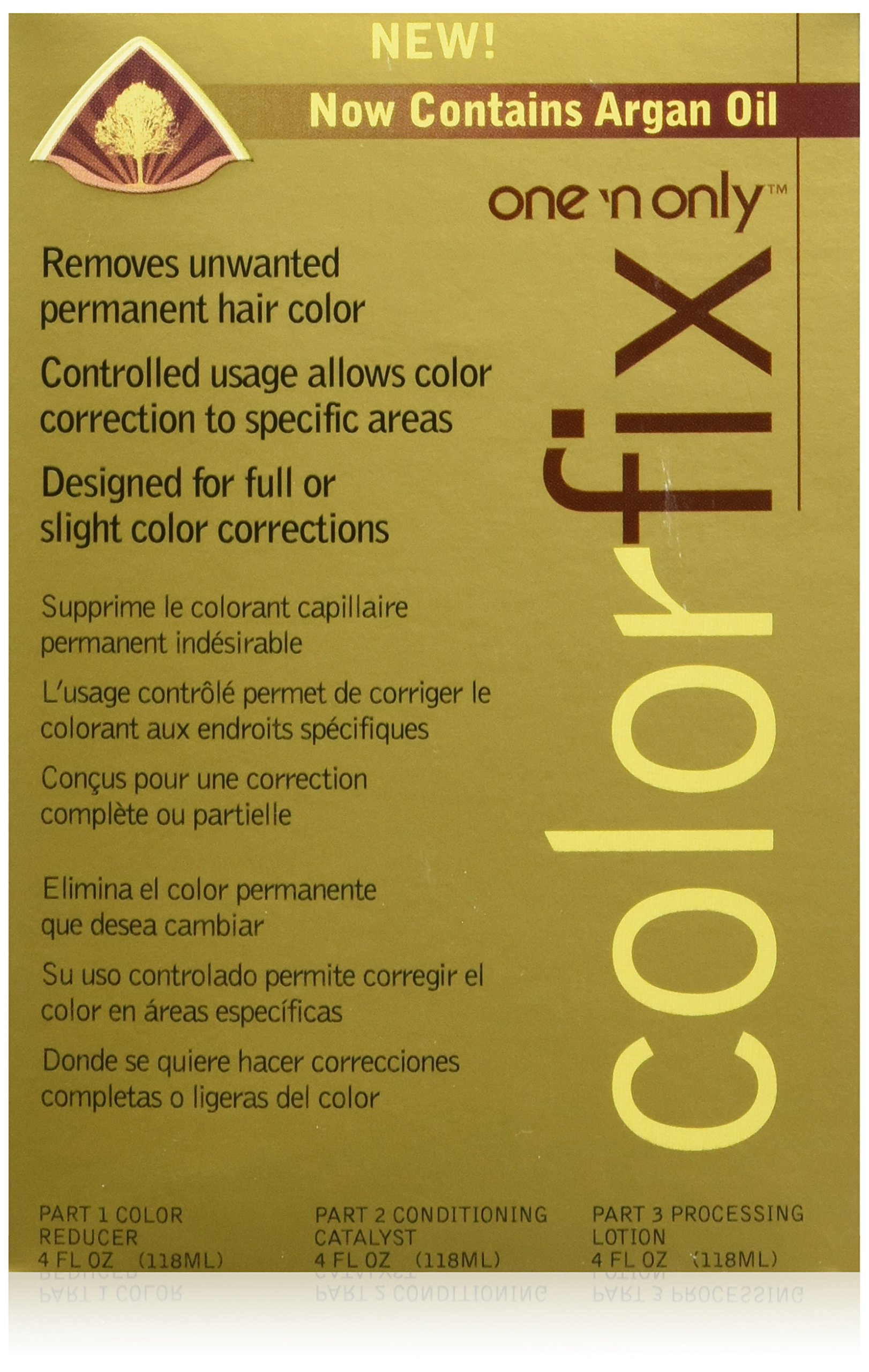 Amazon One N Only Color Fix With Argan Oil Hair Color