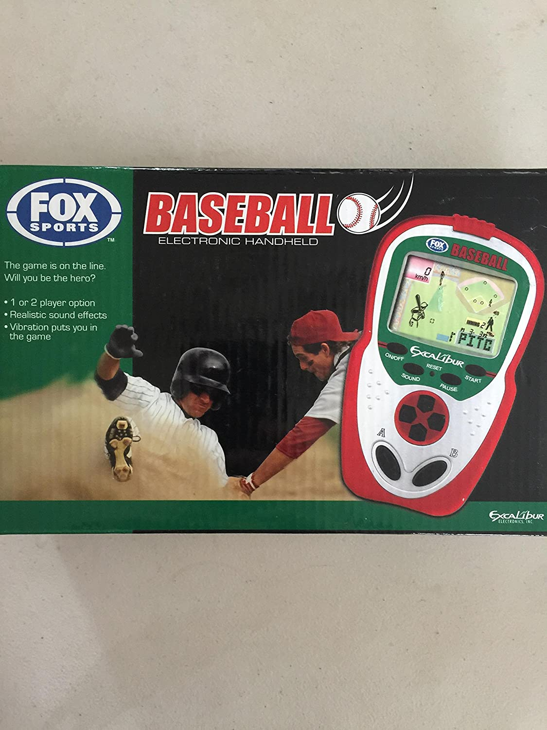 Excalibur FX202 Fox Sports Baseball Handheld by Archbrook Laguna (formerly BDI) - DROPSHIP [並行輸入品] B001BJ6KBM
