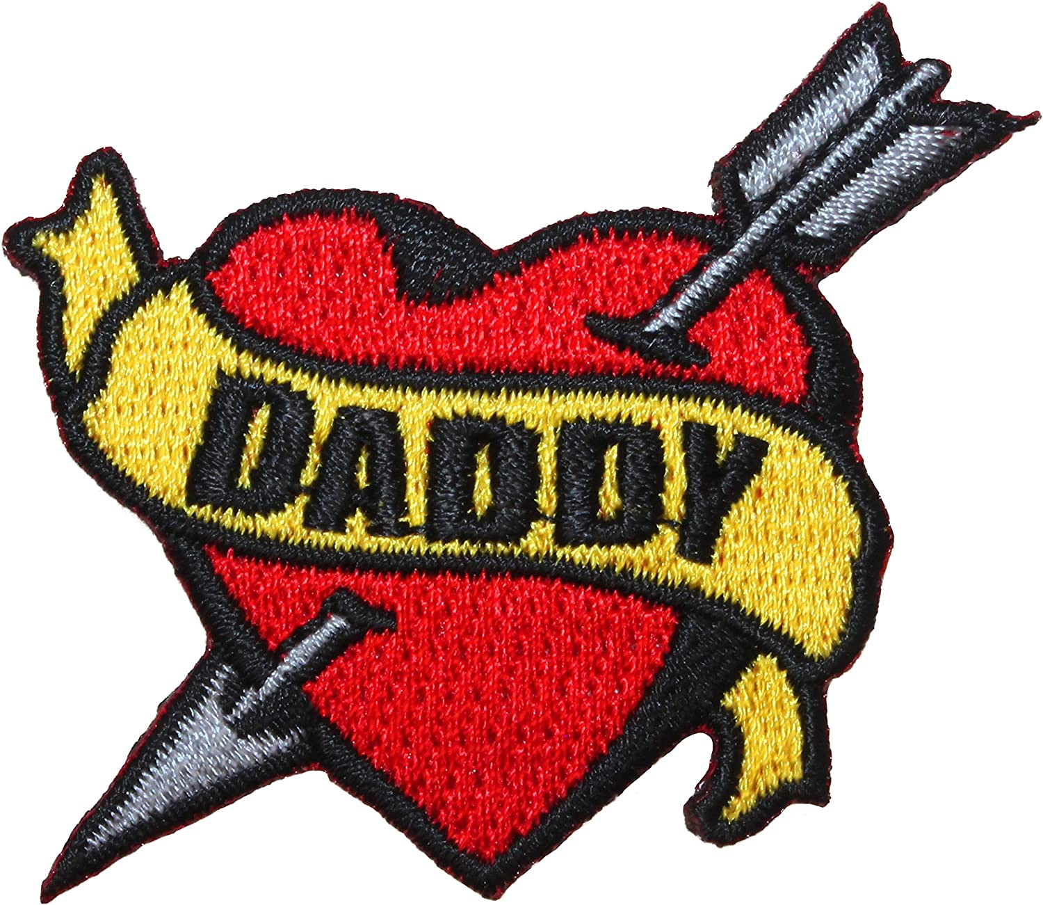 Embroidered Daddy/'s Girl Sew or Iron on Patch Biker Patch