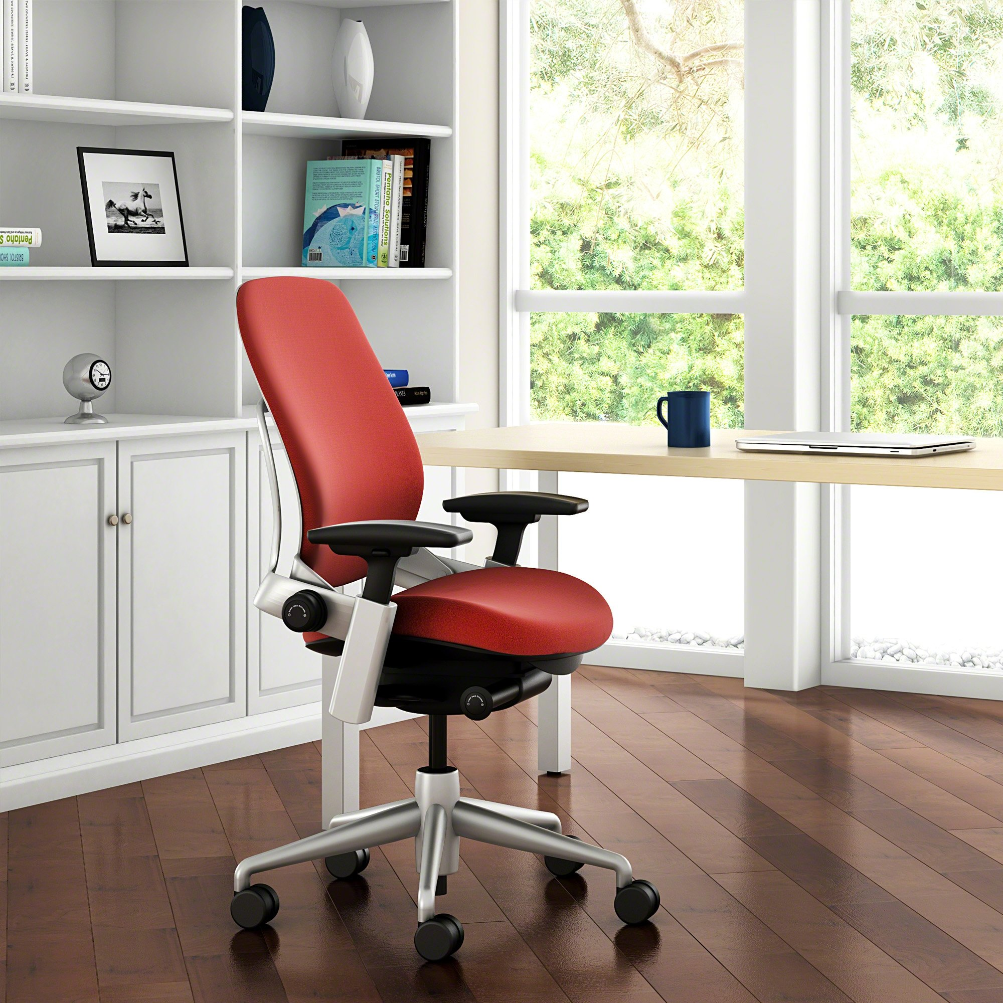 Steelcase Leap Chair, Barley Fabric