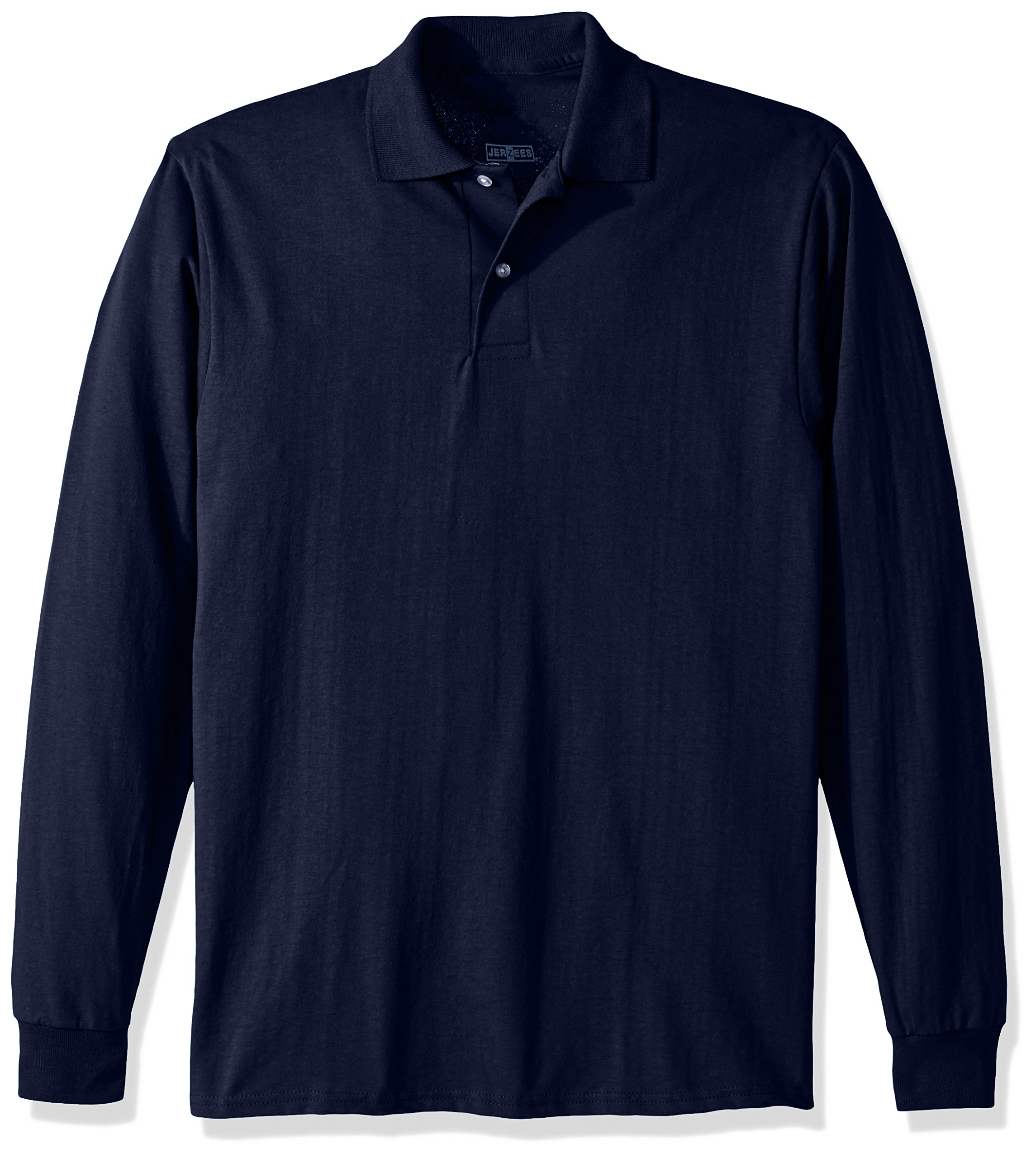 Jerzees Men's Spot Shield Long Sleeve Polo Sport Shirt